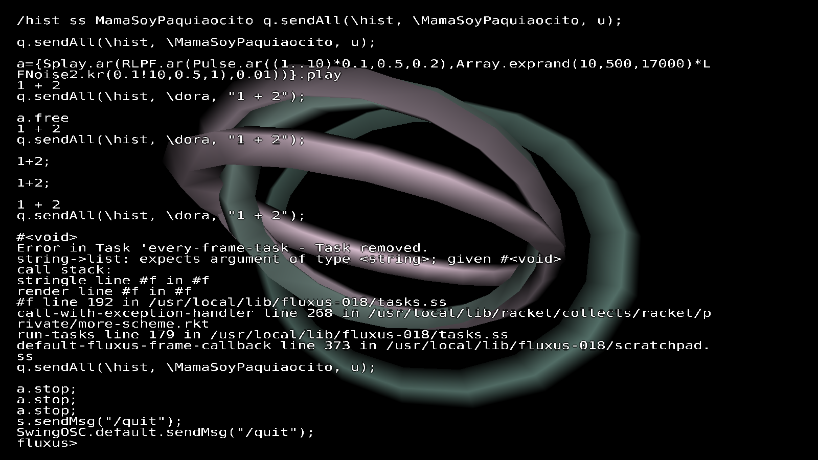 supercollider | dave's blog of art and programming